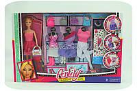 Кукла с набором платьев и аксессуаров «Fashion girl»