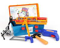 Игрушечный набор детских инструментов в чемодане Маленький механик (Орион 921)