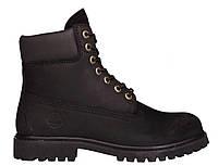 Женские ботинки Timberland 6, Тимберленд черные