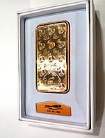 Зажигалка подарочная DAE Евро (спираль накаливания, USB) №4753-3