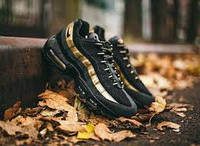 Мужские кроссовки Nike Air Max 95 Black-Gold