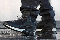 "Зимние непромокающие кроссовки Nike Air Max 90 Winter Sneakerboot ""Black Reflective"""