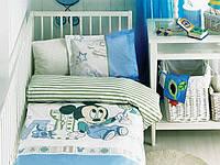 Постельное белье в детскую кроватку ТAC Disney - Mickey Scribble Play