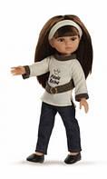 Кукла Paola Reina Кэрол в джинсах 32 см 34591