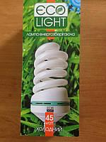 Энергосберегающая лампочка Eco Light 45W E27 6500K