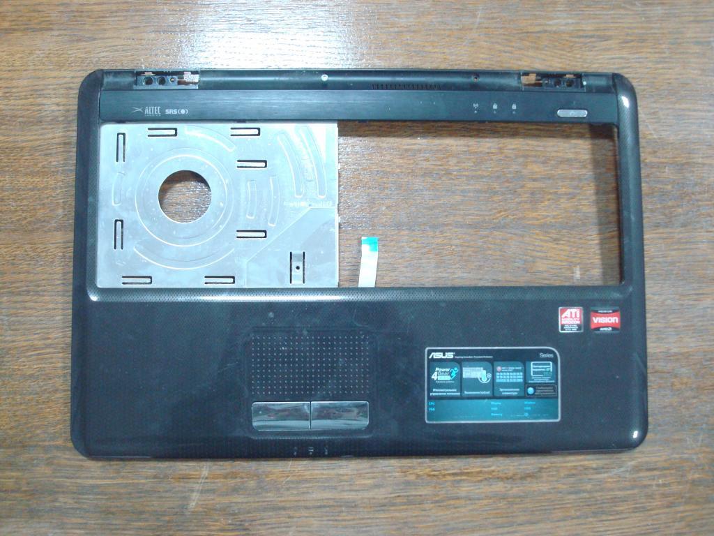 Верхняя часть корпуса ноутбука Asus k50af