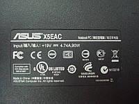 Нижняя часть корпуса ноутбука Asus x5eac