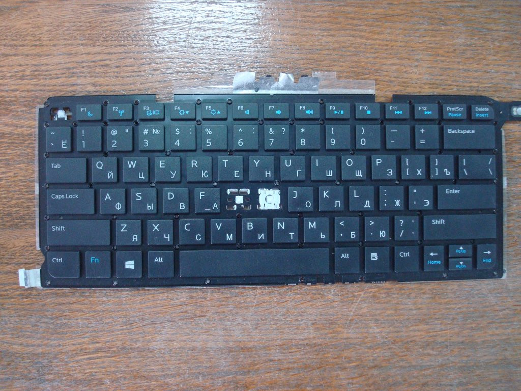Клавиатура mp-12g73su-920 поклавишно