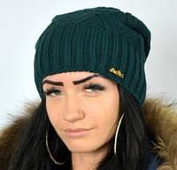 Красивая женская теплая шапка, фото 1