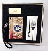 Зажигалка подарочная Mersedess (спираль накаливания, USB) № 4757