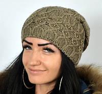 Вязаная шапка Samanta, фото 1