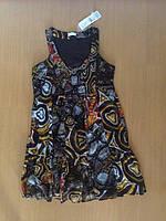 Платье, шифон Cache-Cache, Франция, р.38 (наш 44)