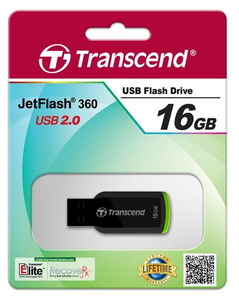Накопитель USB Transcend JetFlash 360 16GB