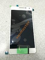 Дисплей модуль SAMSUNG A5 A500H/F WHITE оригинал