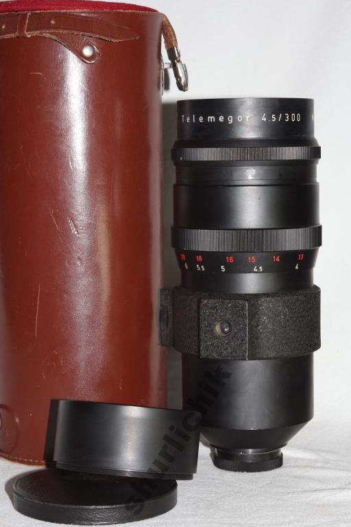 Telemegor Meyer -Optik Gorlitz 4.5 f=300 под Canon