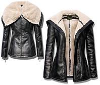 Женская  куртка, дублёнка с капюшоном