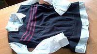 Рубашка жилет 2в1 бренд 10лет на 138 см