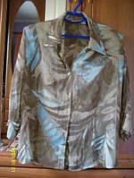 Мего распродажа блуза (пиджак) шелк 16-14 р.