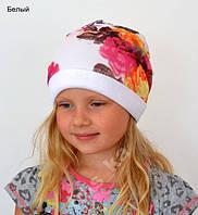 Шапка для девочки, р.47-57,разные цвета, под заказ