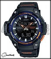 Часы Casio SGW-450H-2B  альтиметр  термометр