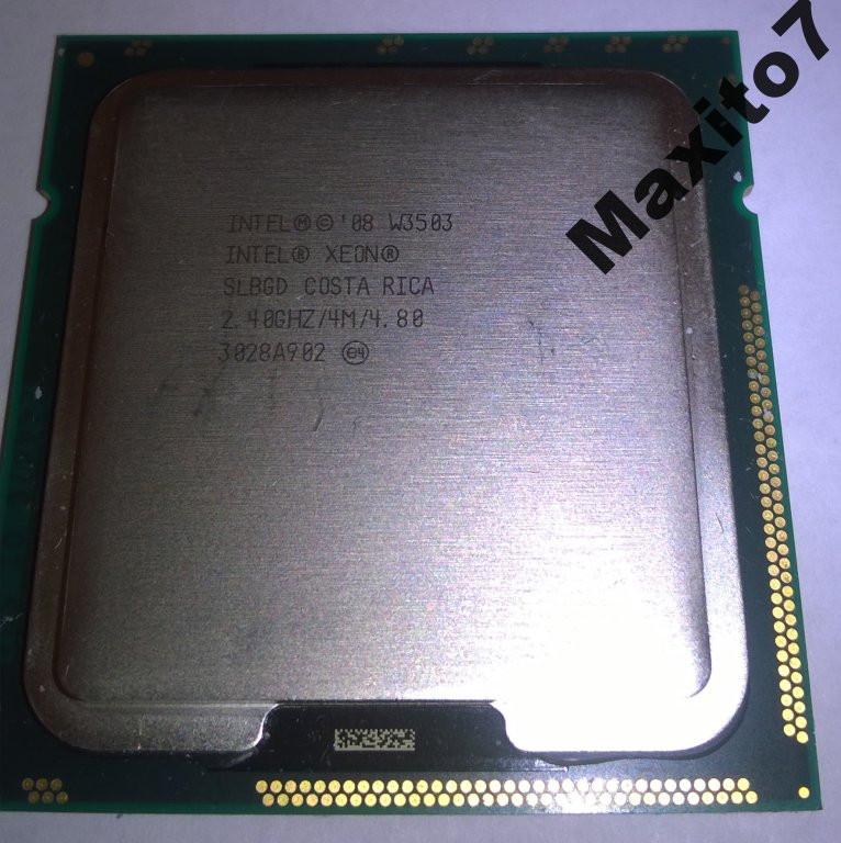 Процессор Intel  Xeon W3503