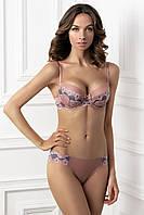 Изысканный комплект белья. Бюстгальтер балконет, бразилиана ANET 1204/78 KORIN 2215/78 Jasmine lingerie