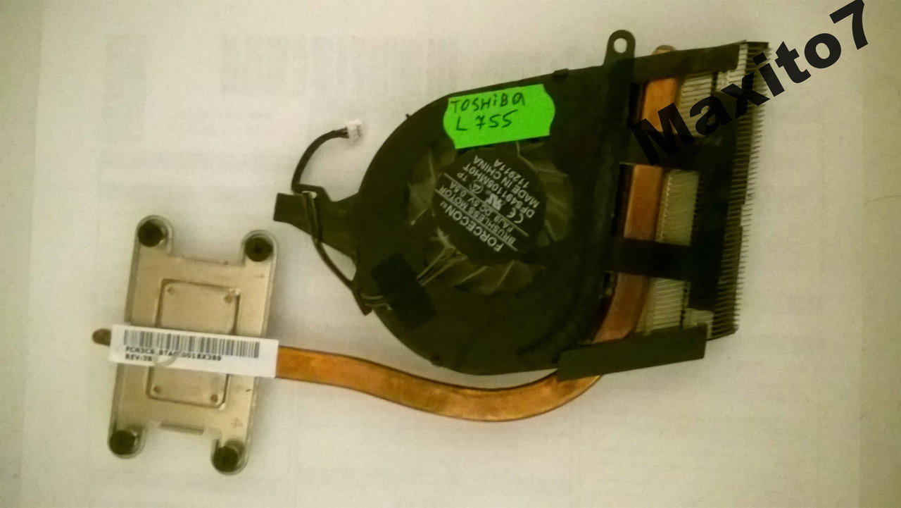 Система охлаждения  куллер  Toshiba L755