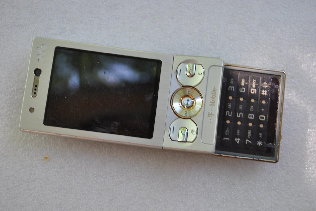Sony Ericsson W705 под восстановление