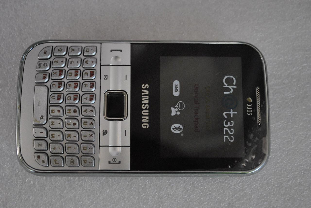Samsung C3222 Chat #2 без батареи , без задней кры