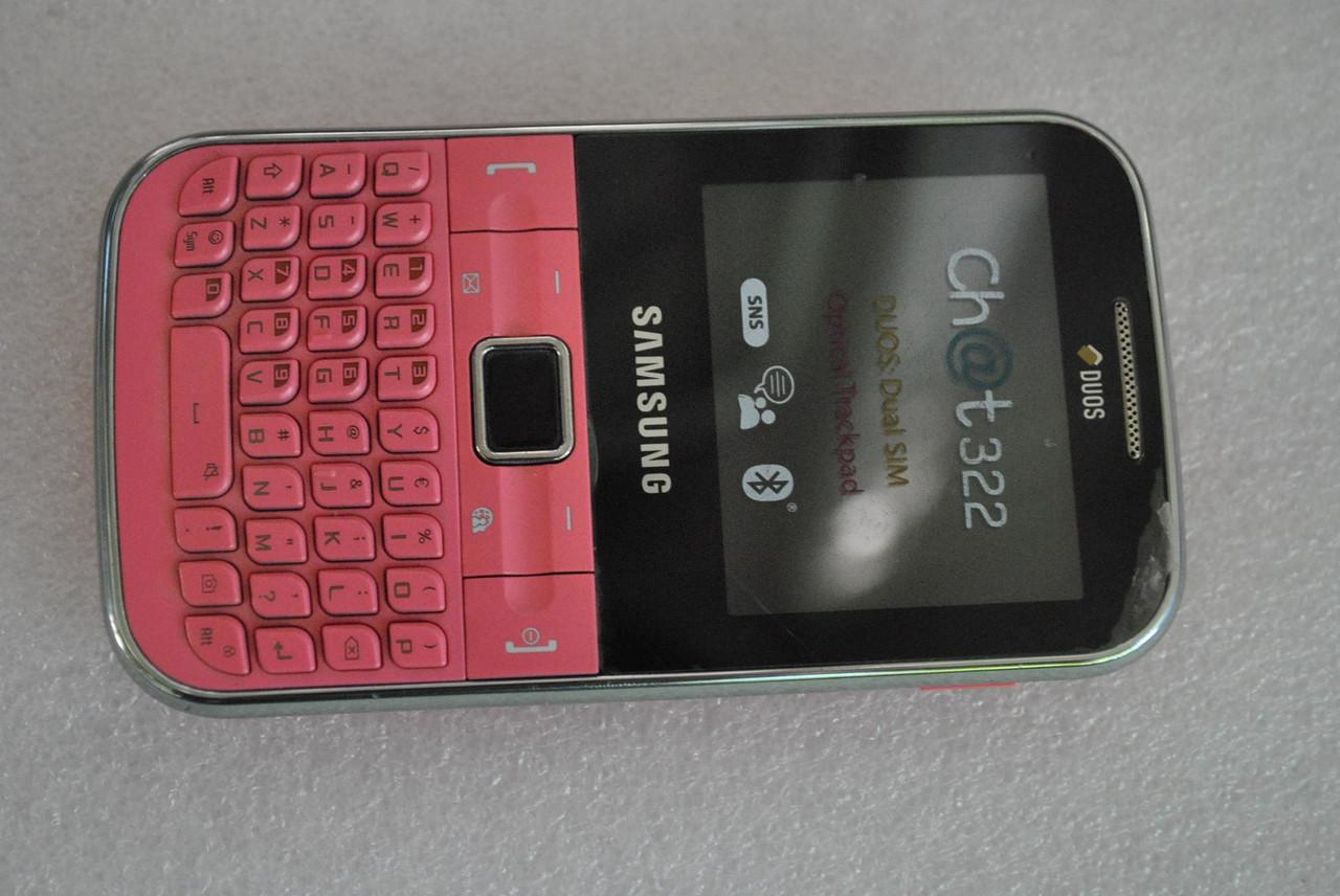 Samsung C3222 Chat без батареи .без задней крышки