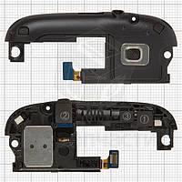 GЗвонок для мобильного телефона Samsung I9300 Galaxy S3, черный, с антенной, с разъёмом наушников