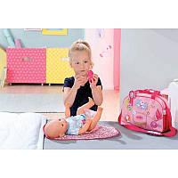 Сумка Модная прогулка с акссесуарами ддля пупса Baby born Zapf Creation 822227