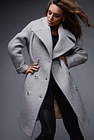 Женское двубортное зимнее пальто X-Woyz