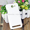 Чехол бампер для Fly IQ455 Octa Ego Art2 Белый