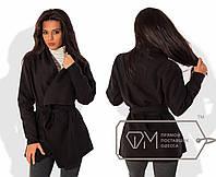 Стильное женское пальто - пончо