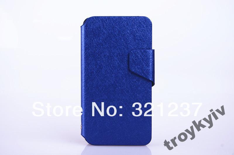 Чехол книжка флип Alcatel OneT Idol 6030 Синий