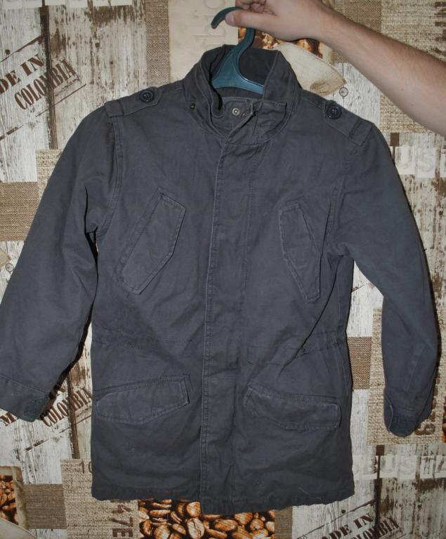 Куртка подростковая зимняя H&M 134 см