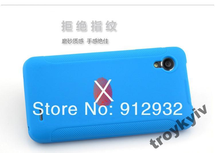 Чехол бампер на Lenovo P770 НАЛИЧИЕ Синий