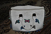Женская сумка  на лето  Кожа