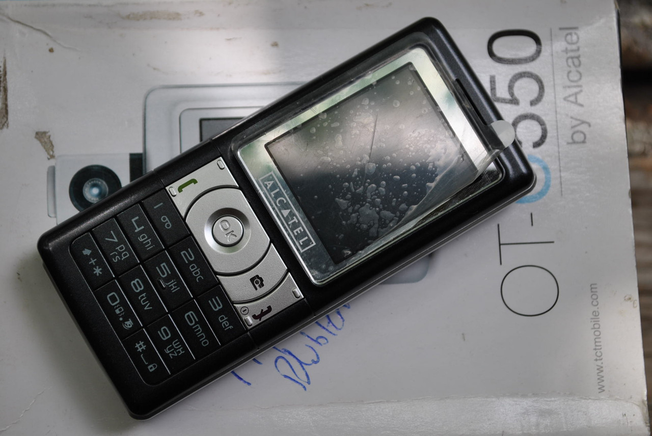 Alcatel OT-C550  новый
