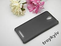 Чехол бампер накладка  Xiaomi Redmi Note 2 Черный