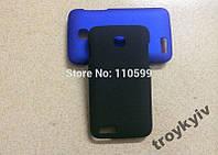 Чехол бампер накладка Fly IQ434 ERA Nano 5 Черный