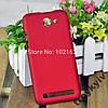 Чехол бампер для Fly IQ455 Octa Ego Art2 Красный