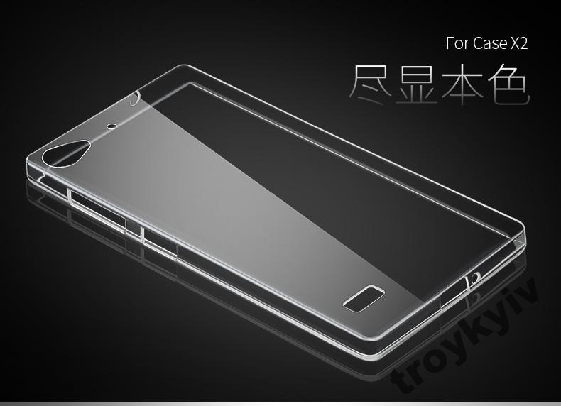 Чехол бампер накладка Lenovo Vibe X2 Белый 0,5 мм!