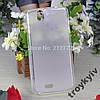 Чехол бампер накладка Fly IQ4503 Era Life 6 Белый