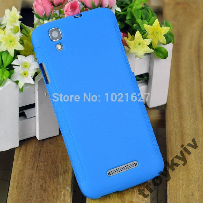 Чехол бампер накладка Fly IQ4414 Evo Tech 3 Синий