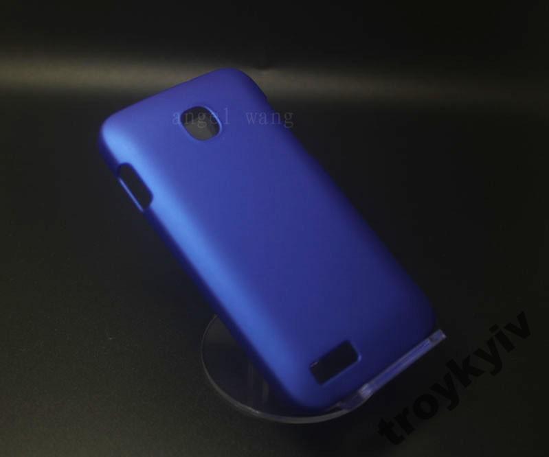 Чехол бампер накладка Fly IQ434 ERA Nano 5 Синий