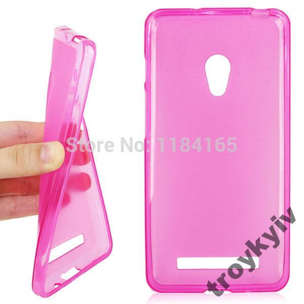 Чехол бампер накладка для Asus ZenFone 5 Розовый