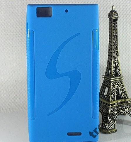 Чехол бампер для Lenovo K900 в НАЛИЧИИ Синий