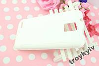 Чехол бампер на ZTE V880G НАЛИЧИЕ Белый